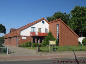 Landeskirchliche Gemeinschaft (LKG) Bremen-Blumenthal - Gemeinschaftshaus-Strassenansicht