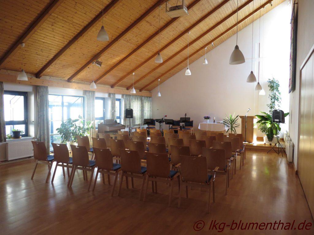 Landeskirchliche Gemeinschaft (LKG) Bremen-Blumenthal - Grosser Saal