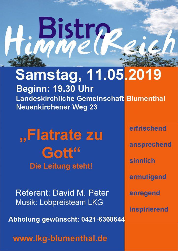Landeskirchliche Gemeinschaft (LKG) Bremen-Blumenthal Bistro Himmelreich 2019