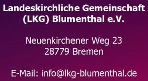 Adresse - LKG Blumenthal
